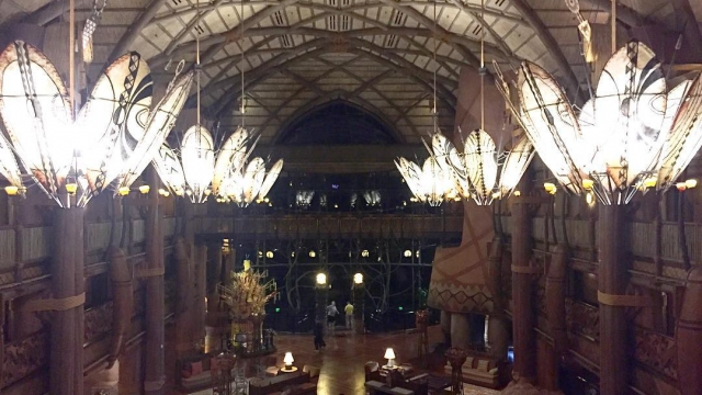 There are so many wonderful things I love about AKL, one being the lobby! What is your favorite Disney resort lobby?