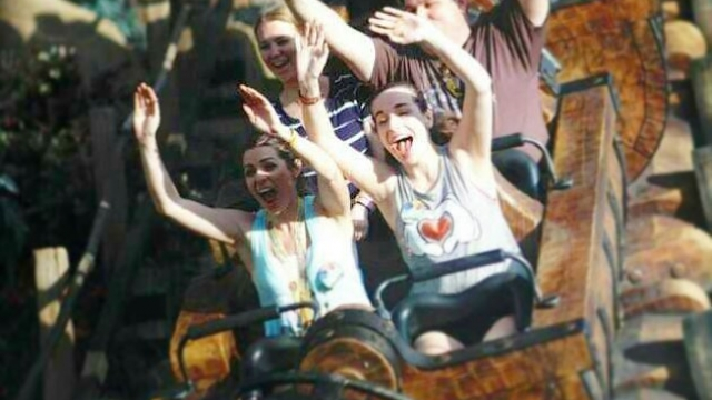Weekend got me like….🎢😆