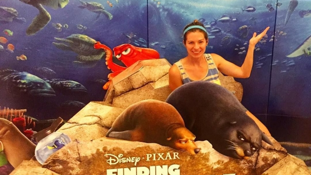 Have you seen Finding Dory? You should. 🐠🐙💙💛