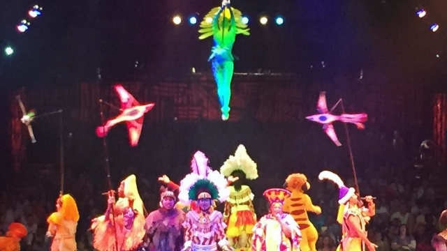 The Lion King show at Animal Kingdom 🦁