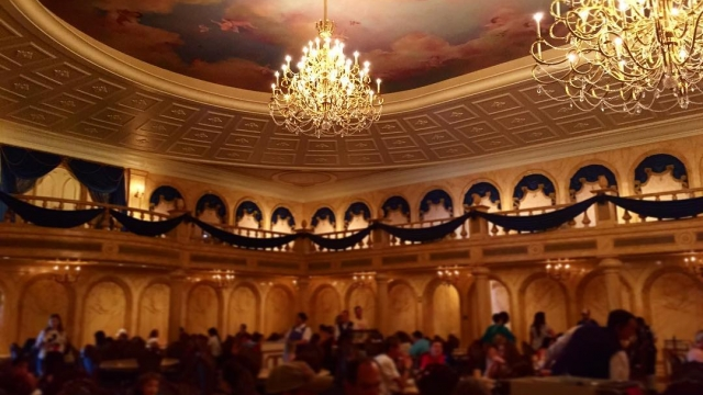Be Our Guest Restaurant 🍽