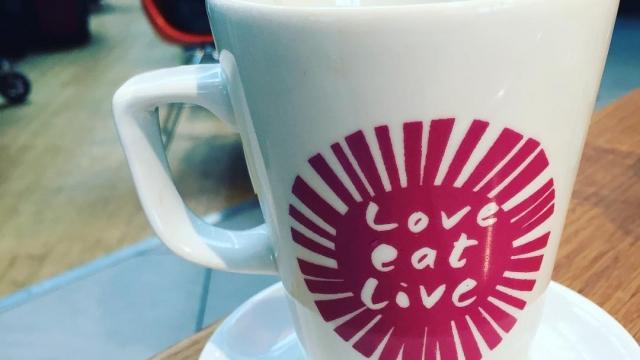 London breakfast…milk with tea ☕️