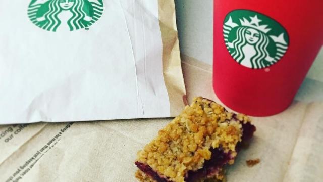 Starbucks morning ☕️❤️