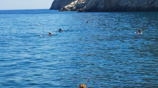 Swimming in the Aegean Sea 🏊🏼