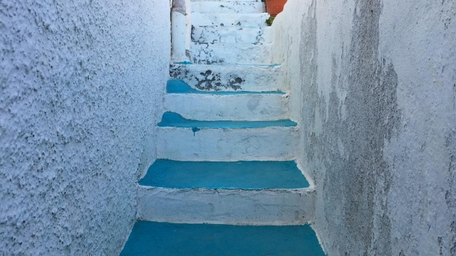 Turquoise steps ✨