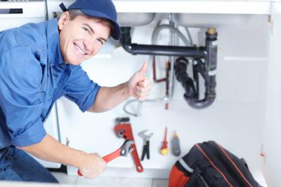 plumber thumbs up