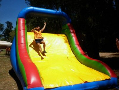 throw a slide party