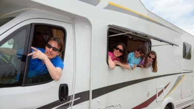 Camping Guidelines with Caravans for Family Trip
