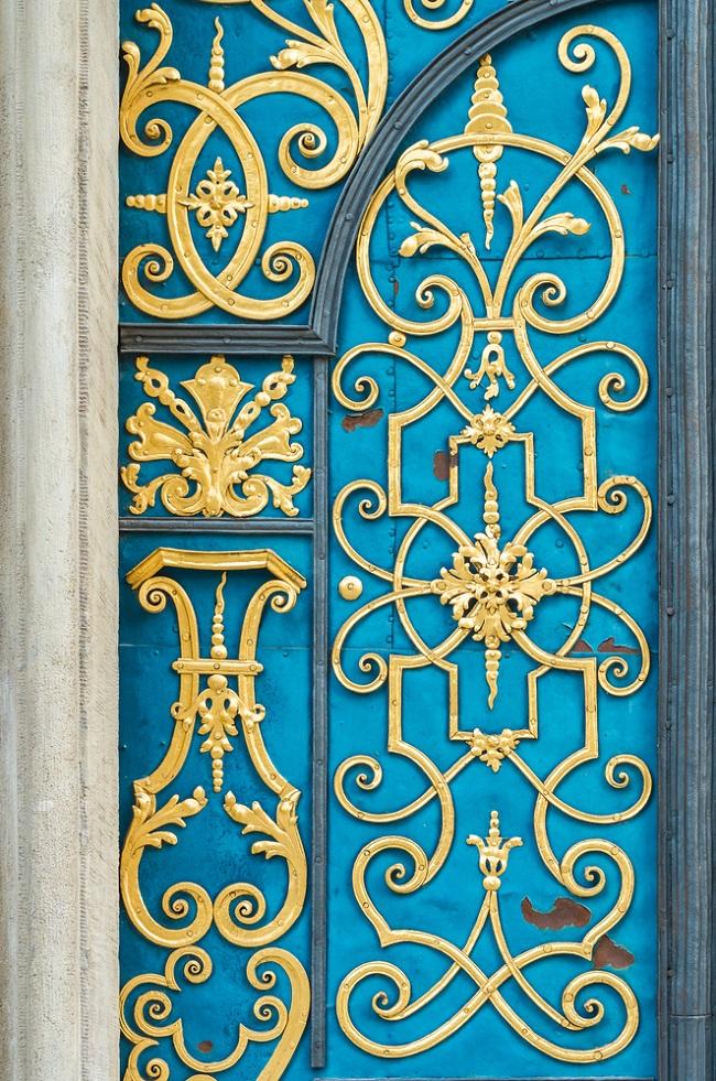 decorative security door