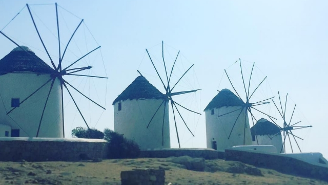 Windmillls all in a row 🌤