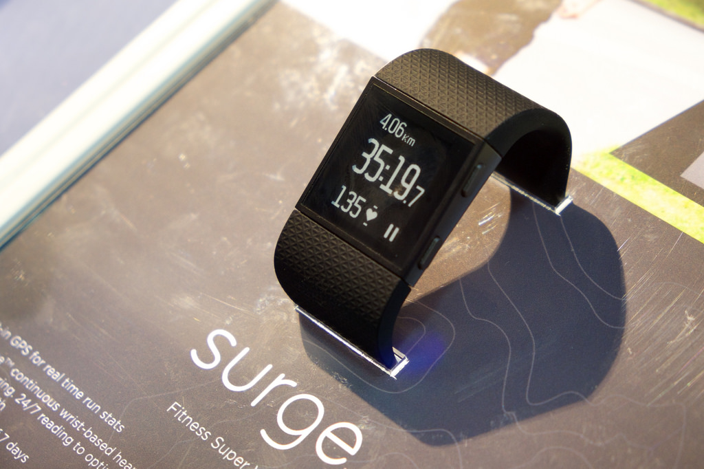fitbit surge fit watch