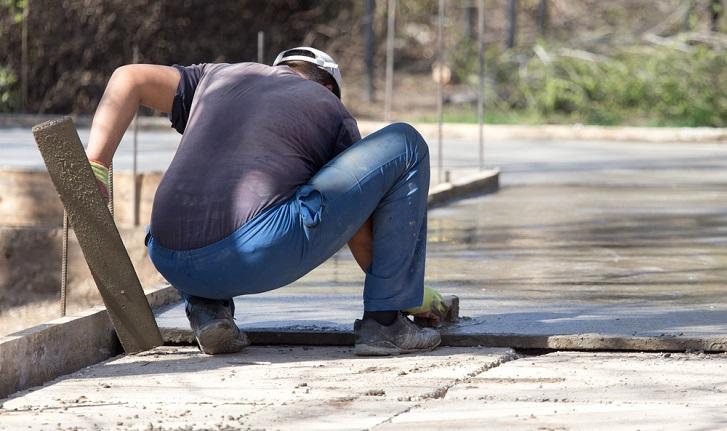 concrete slab uses