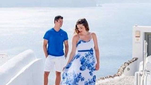 Santorini photoshoot 📸