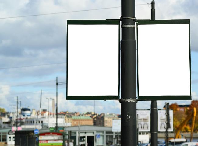 steel street poles