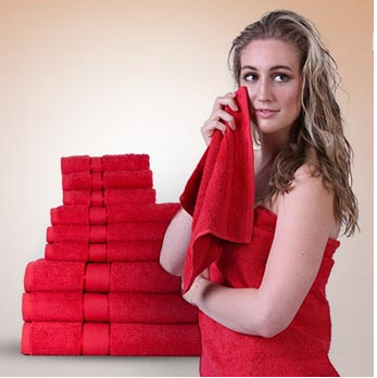 make your towels clean