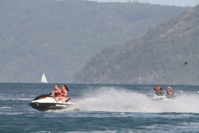 Great Barrier Reef jet ski