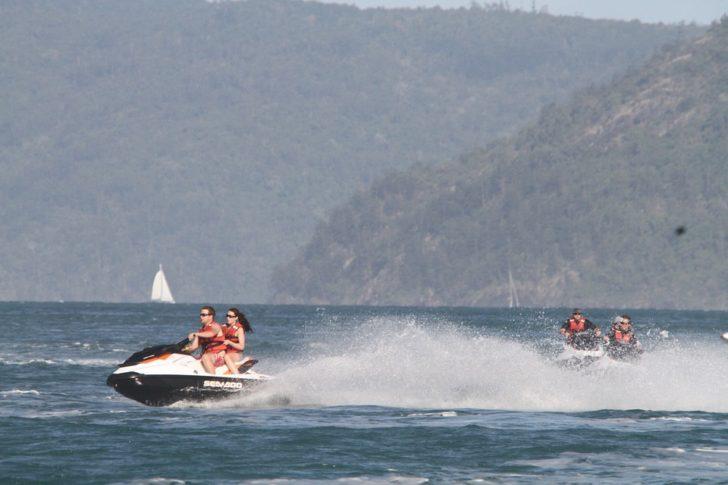 Great Barrier Reef jet ski