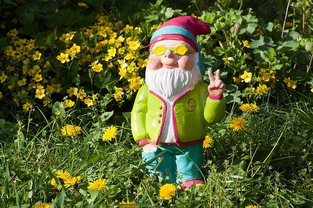 New Year Season spring gnome