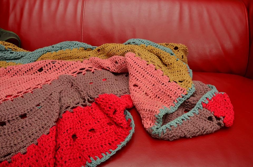 evening routine warm winter blankets