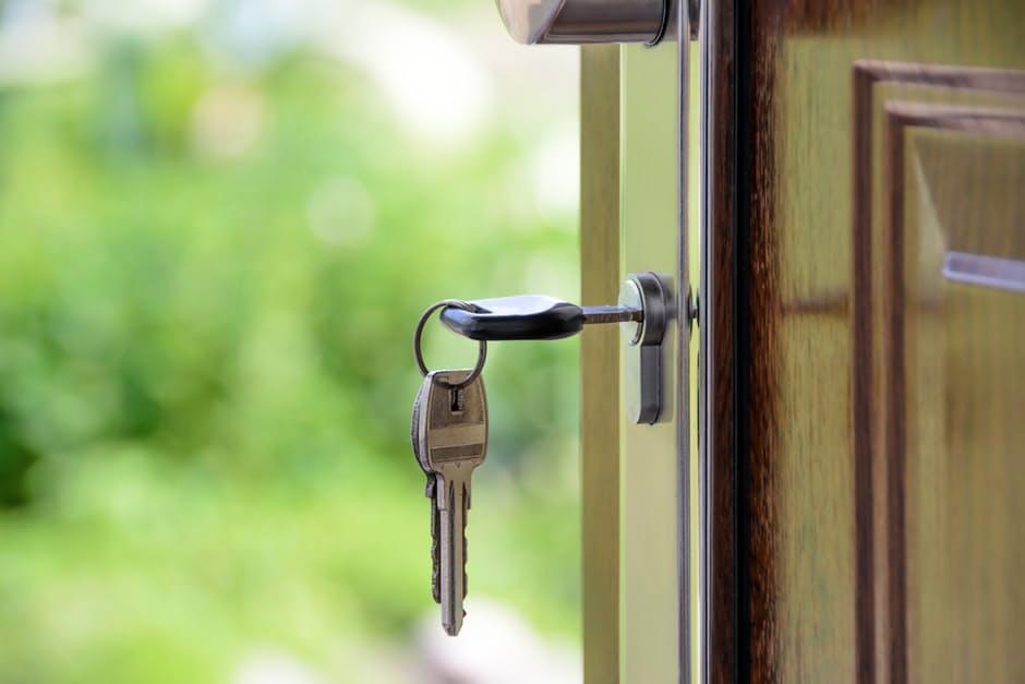 key and lock door renovations