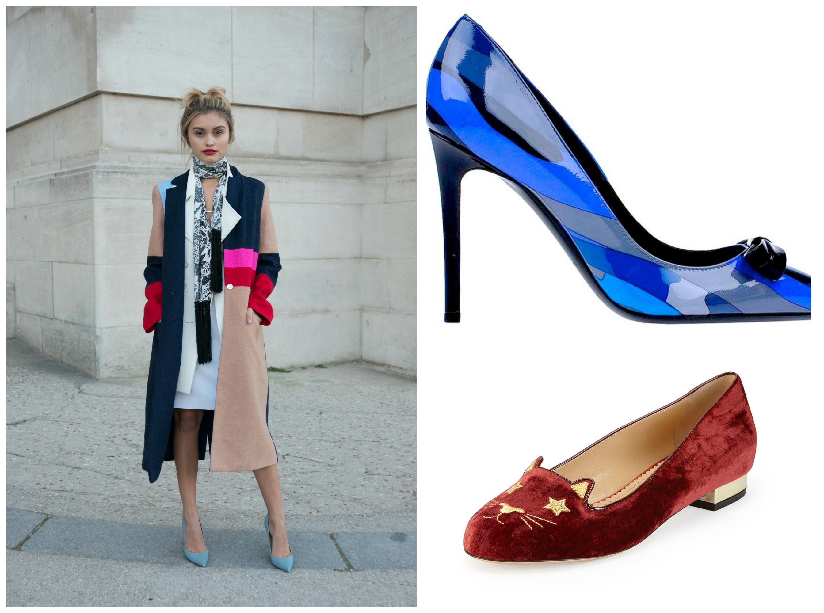 pantone colour shoes