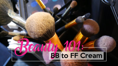 Beauty 101 BB to FF Creams
