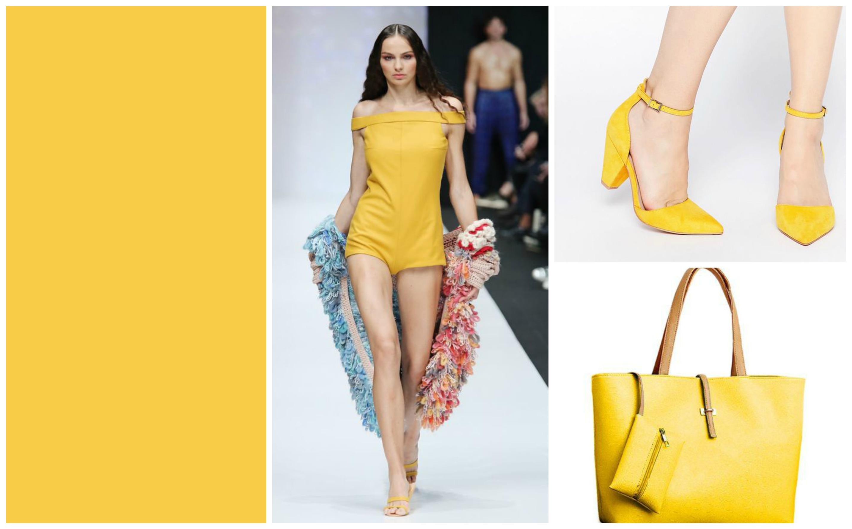 pantone colour yellow