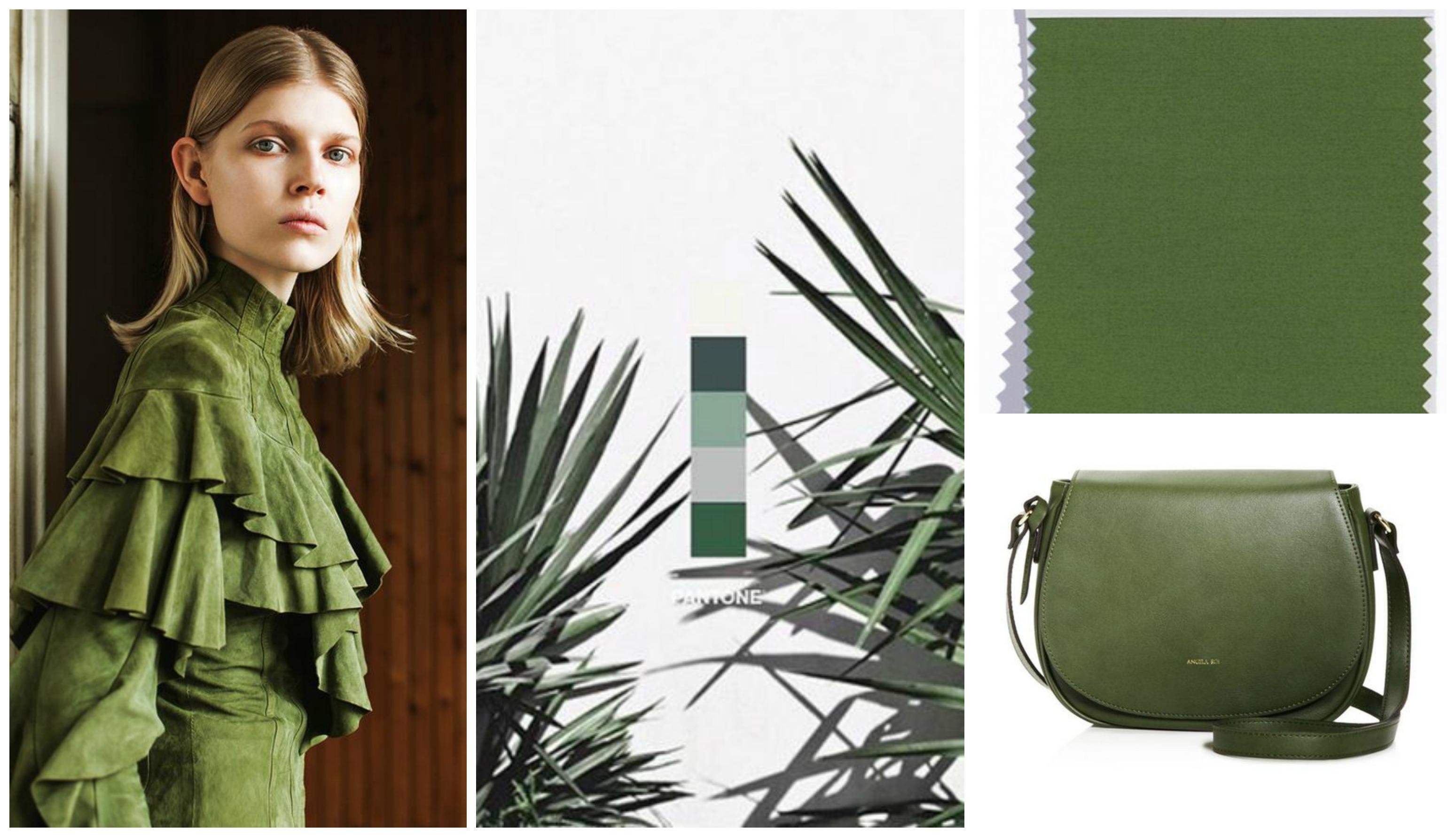 pantone colour green