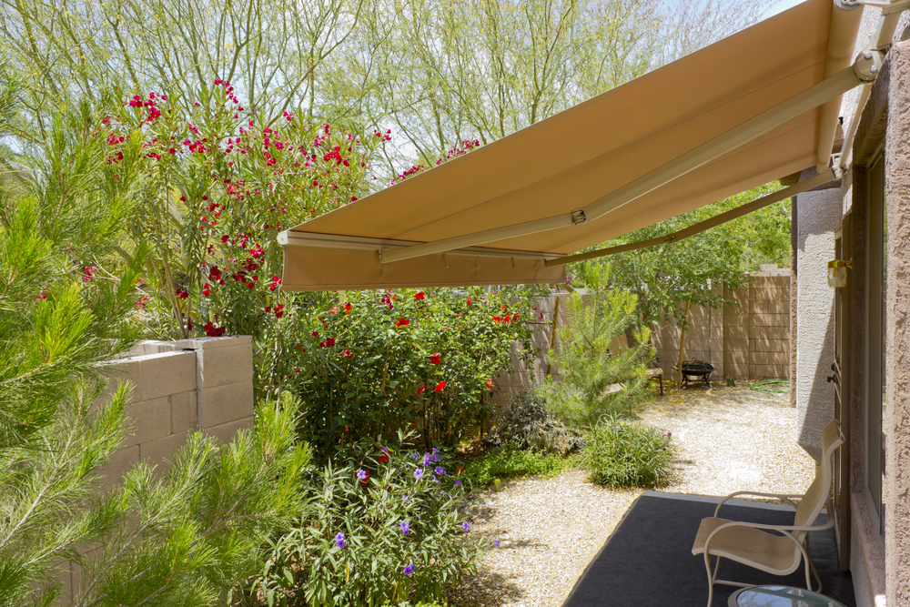 Patio Blinds exterior awning