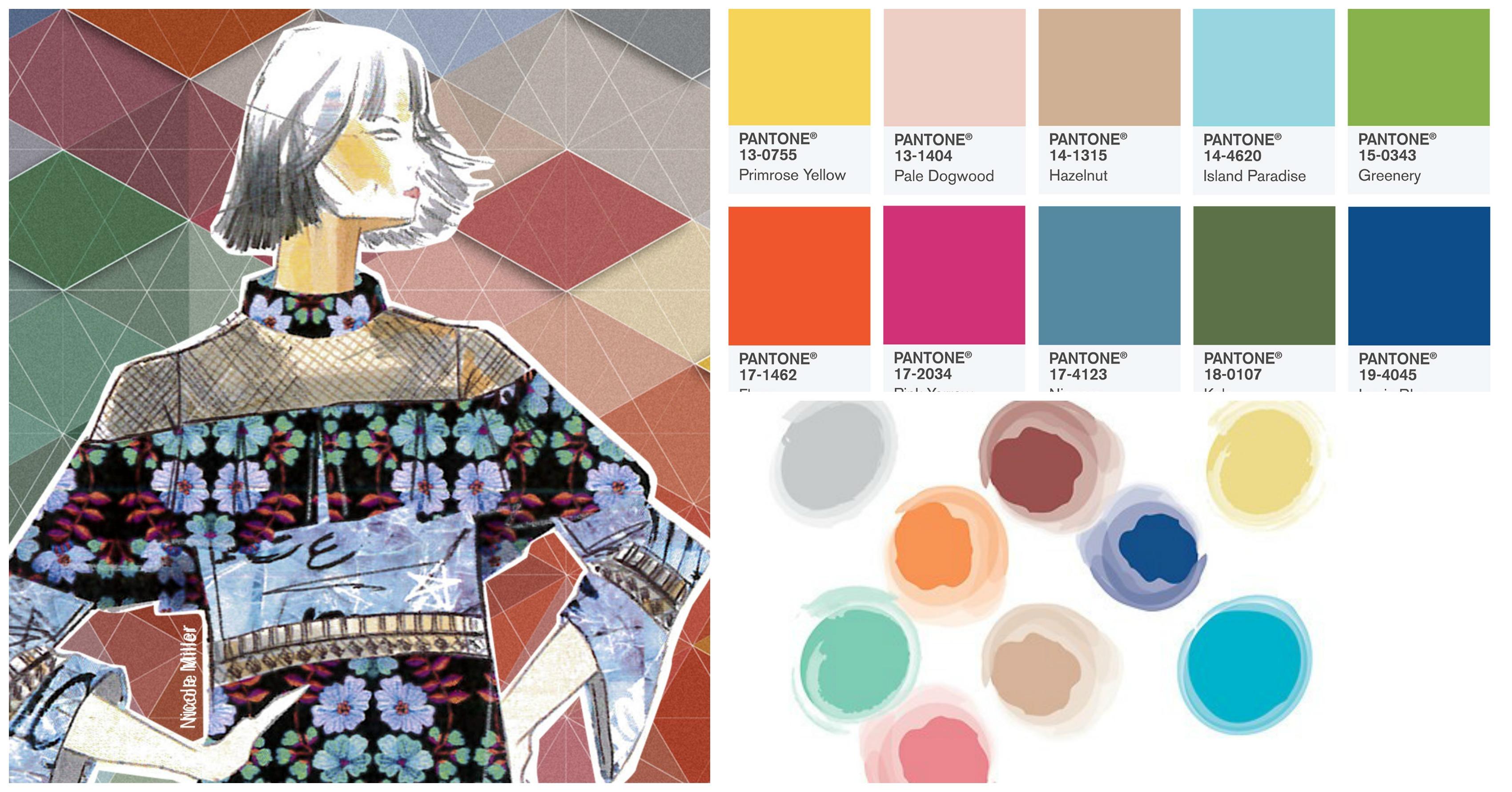 pantone colour palette style