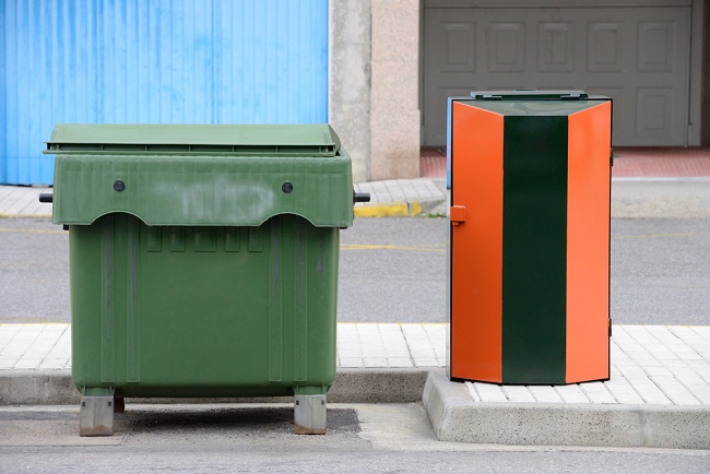 avoid waste bin fires