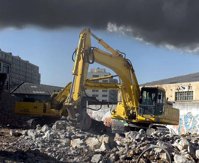 demolition contractors crane hiring