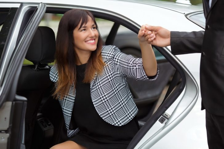limo hire woman