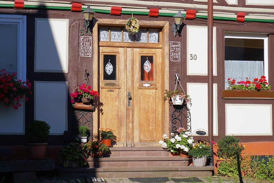 Front Of Your Home door facelift
