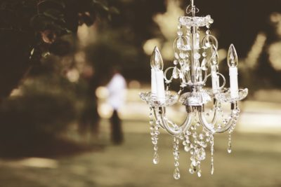 Little Luxuries nice chandelier
