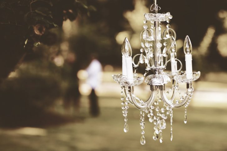 Little Luxuries nice chandelier