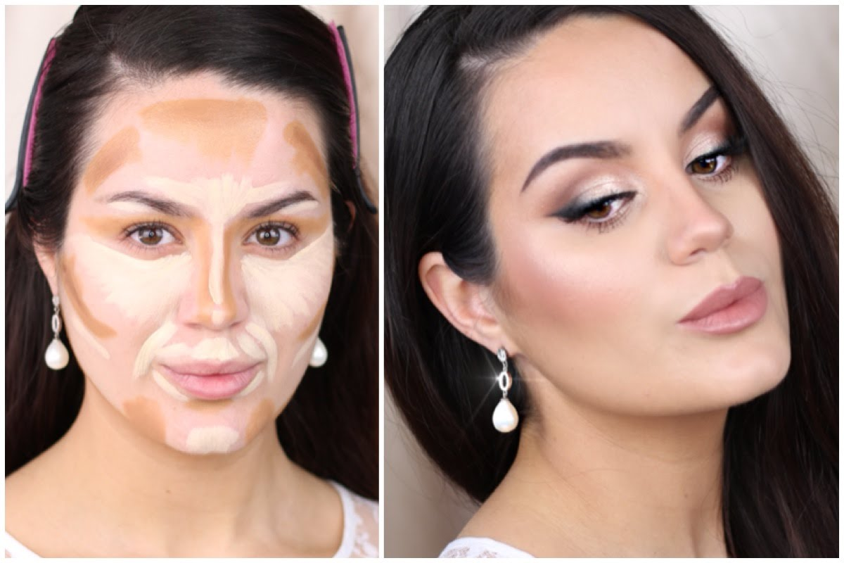 Your Wedding face contouring