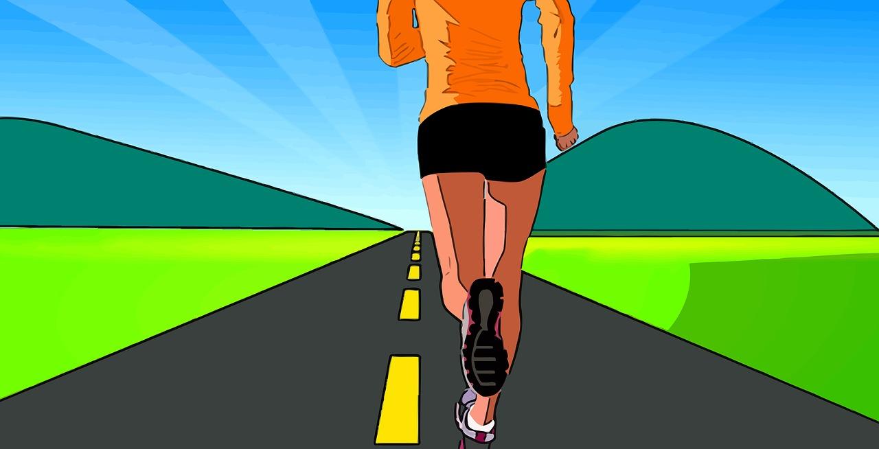 Are You Running cartoon runner