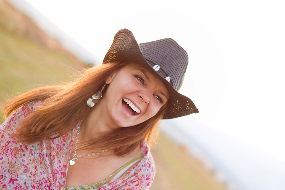 Obstacles In Your Life cow girl laughing