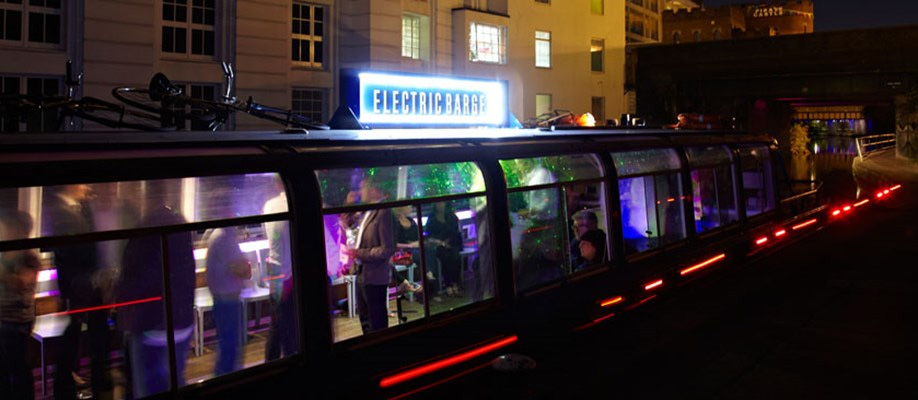 London Venues electric barge