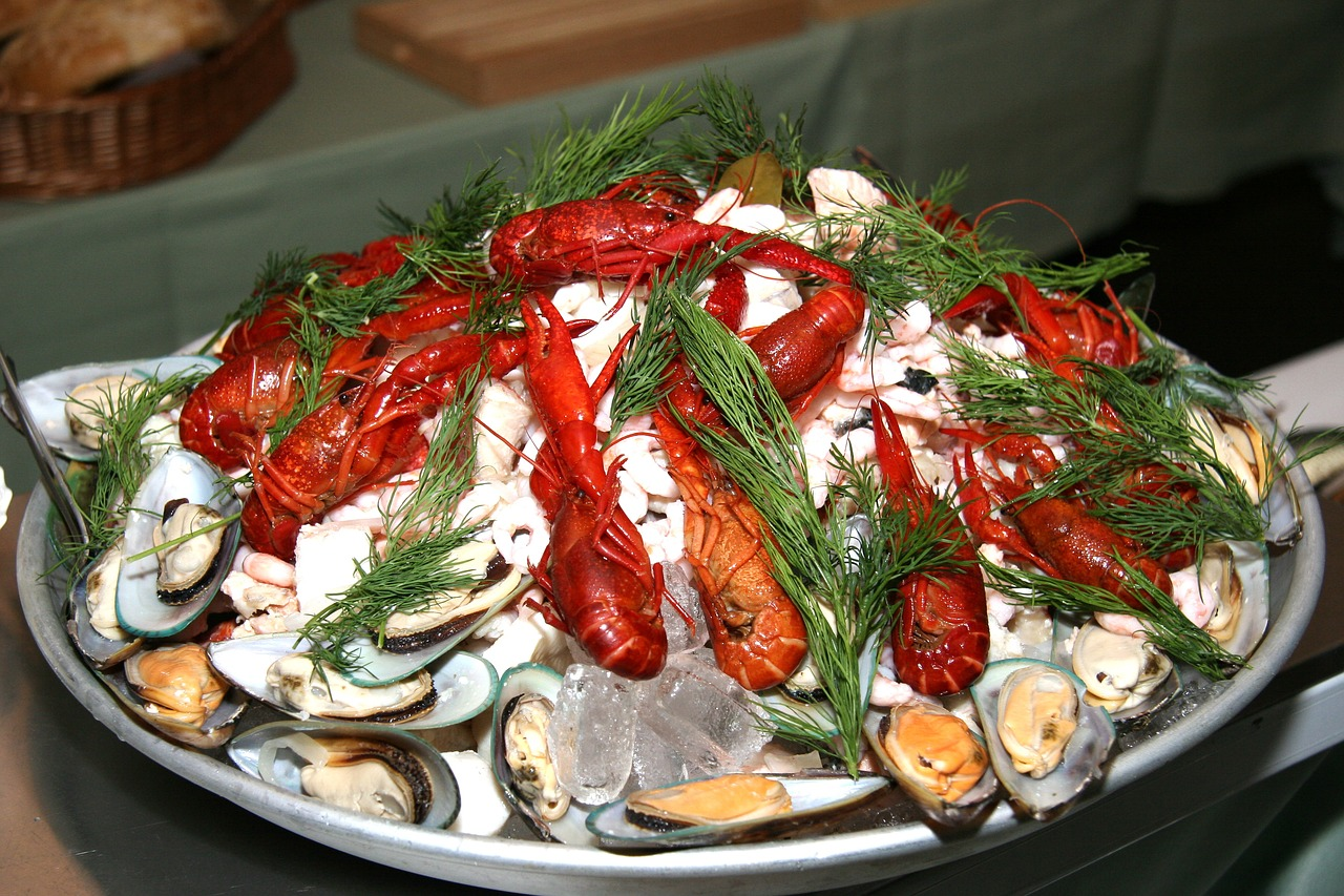 The Perfect Buffet crawfish