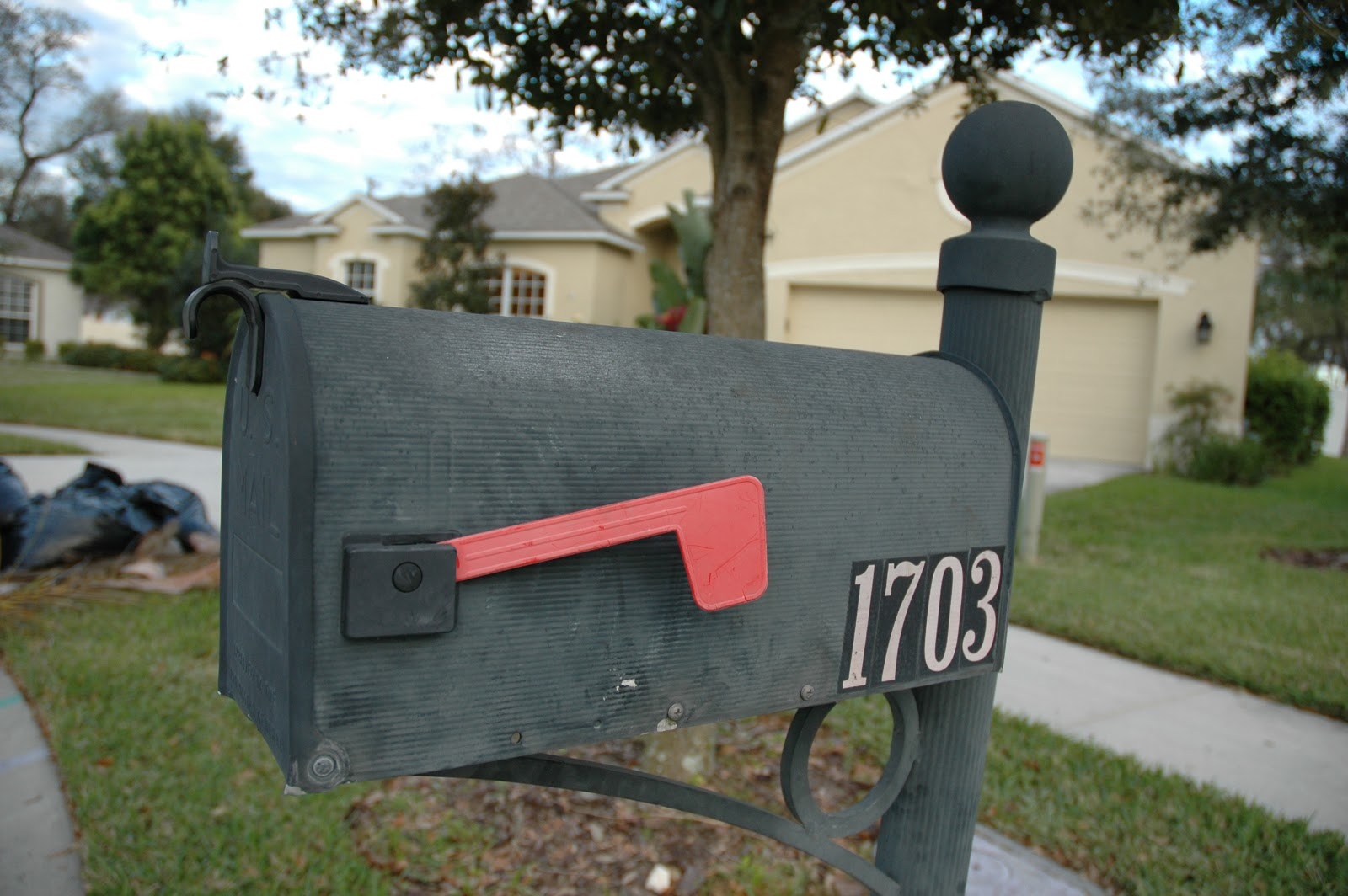 Front Of Your Home mailbox