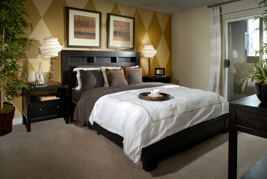 Healthy Home bed and bedroom