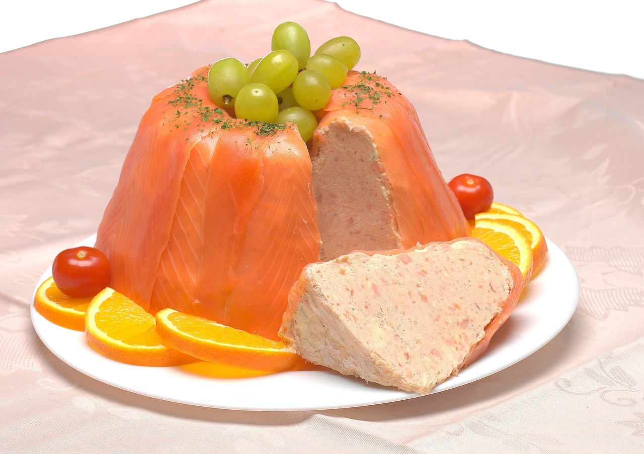 The Perfect Buffet salmon