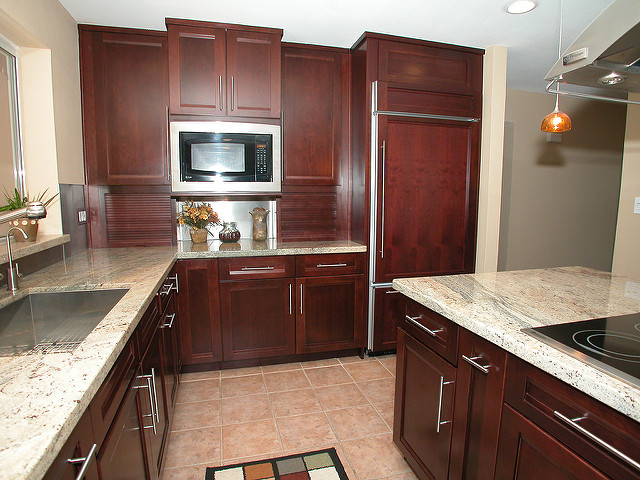 Home Improvement Tips kitchen wood cabinets