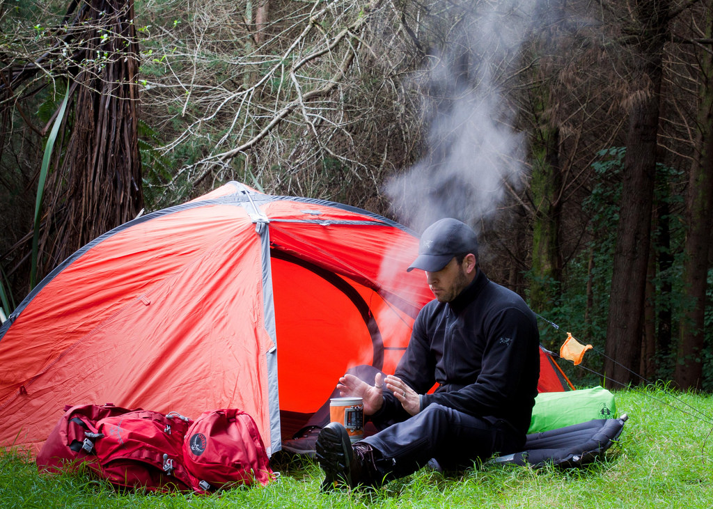 Guidelines For Camping starting a campfire