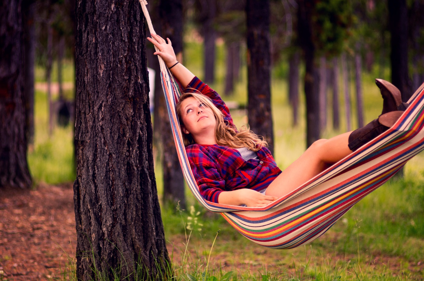 Guidelines For Camping sleeping in hammock