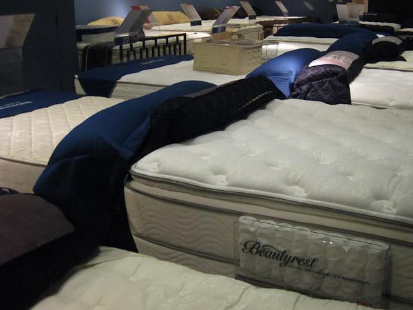 Cozy Bedroom nice new mattress