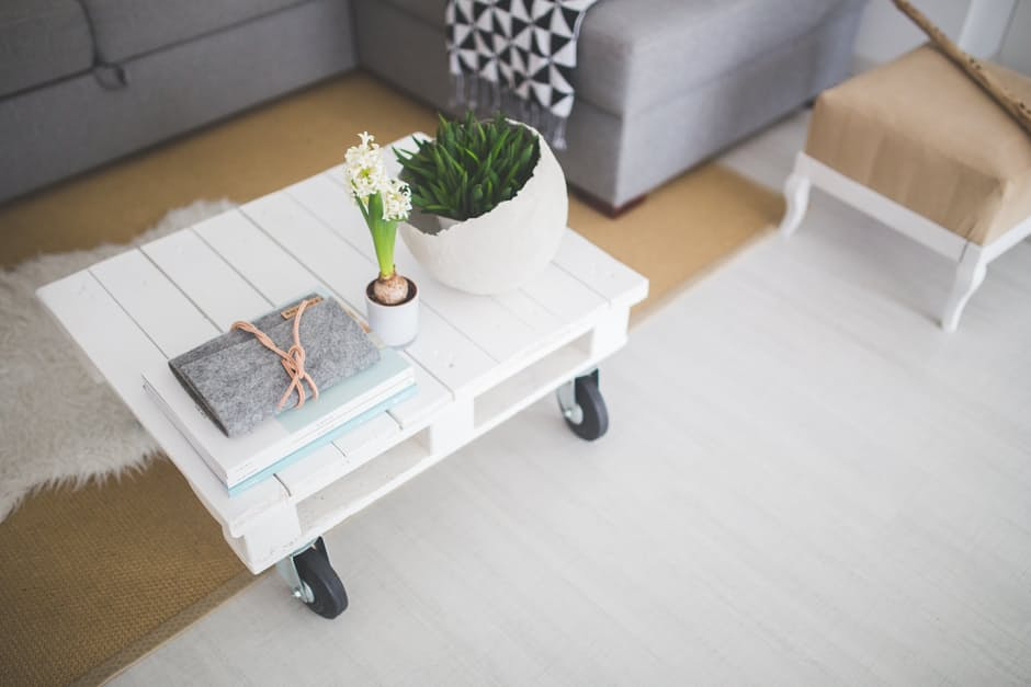Adding More Space white coffee table