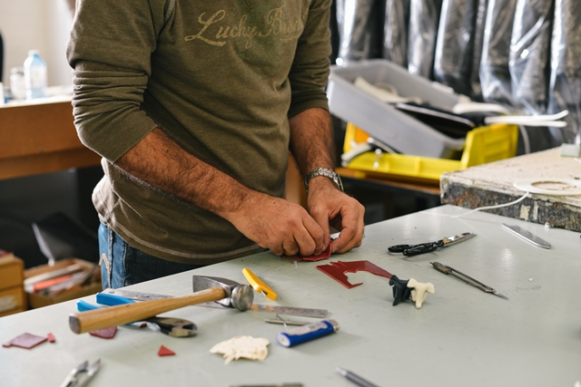Home Trends for Buyers man and work bench